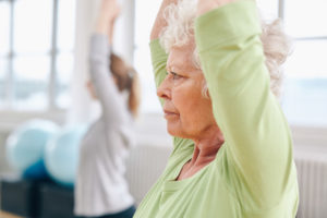 chair yoga classes in Overland Park